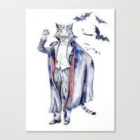 Count Catula Canvas Print
