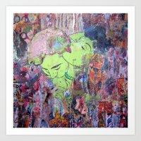 The Scent Of Ms. Ooh La … Art Print