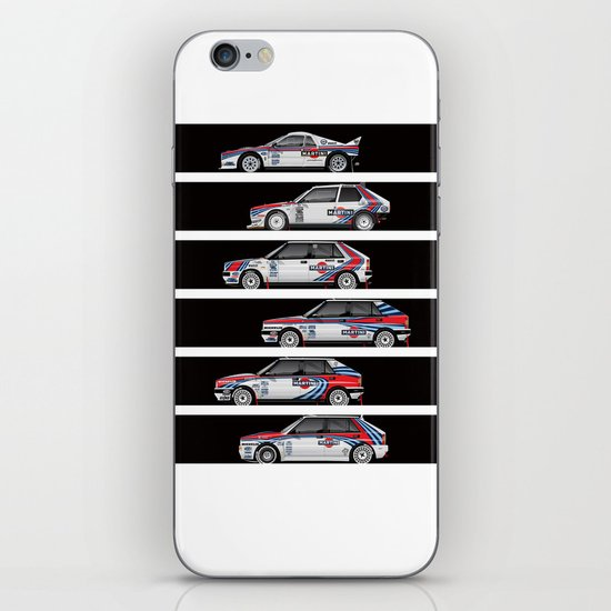 Lancia Martini Rally Cars iPhone & iPod Skin