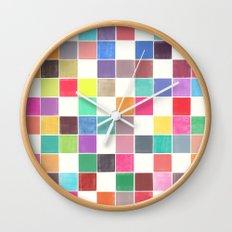 colorquilt 1 Wall Clock