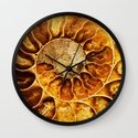AMAZING AMMONITE Wall Clock