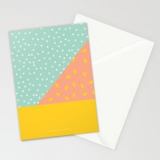 80's Abstract 1 Stationery Cards