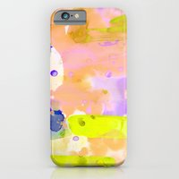 iPhone & iPod Case featuring Flamingo Neon by Amy Sia