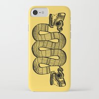 aztec iPhone & iPod Cases featuring Aztec by Estelle F