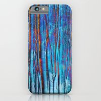 iPhone & iPod Case featuring Winter Forest by Klara Acel