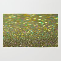 Partytime Gold Rug