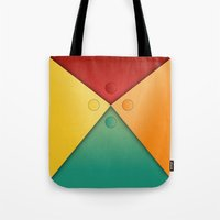 Letter tie Tote Bag