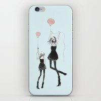 Girls Afloat iPhone & iPod Skin