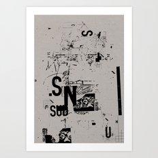 spotless 2 Art Print