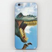 T-Rex Roar iPhone & iPod Skin