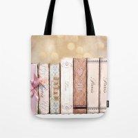Paris Dream Love Books P… Tote Bag