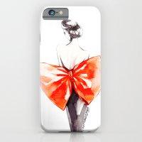 Elegance In Orange iPhone 6 Slim Case