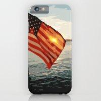 Patriot's Sunset iPhone 6 Slim Case