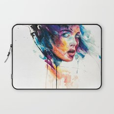 sheets of colored glass Laptop Sleeve