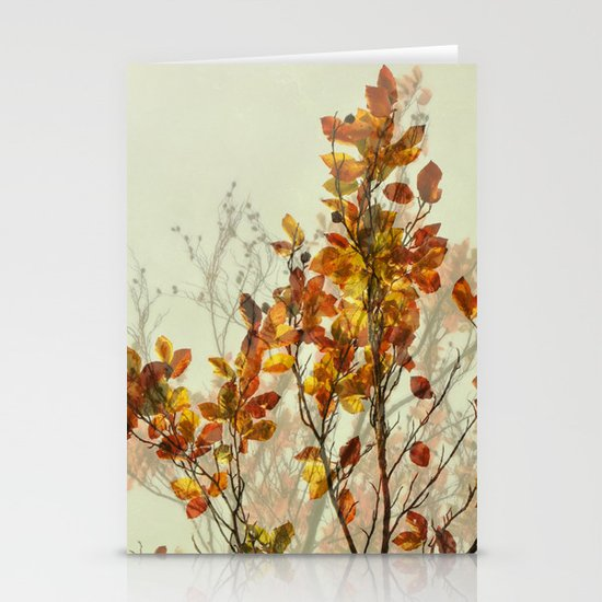 autumn symphonies I Stationery Card