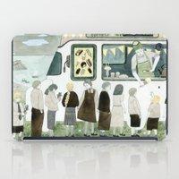 Ice Cream Queue iPad Case