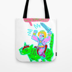 Masters of the universe of love 1 Tote Bag