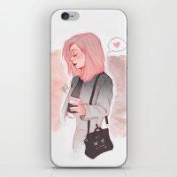 Coffee Luv iPhone & iPod Skin