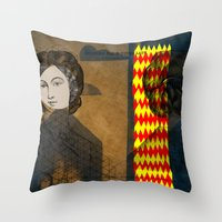 Coiffure For A Young Lad… Throw Pillow