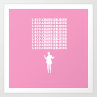 Hotline Bling AKA Chandl… Art Print