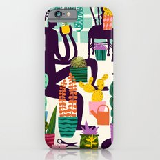 Natural Recall poster design iPhone 6 Slim Case