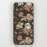 Botanic Wars iPhone & iPod Skin