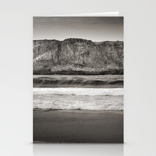 Andrin beach Stationery Card