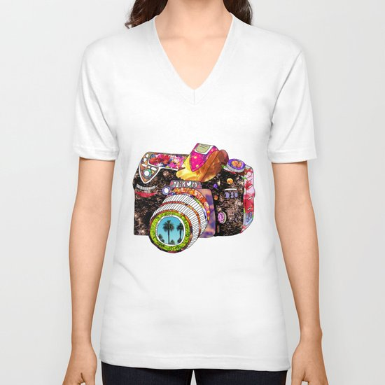 Picture This V-neck T-shirt