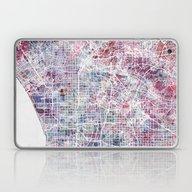 Los Angeles Map Laptop & iPad Skin