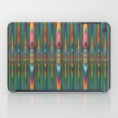 Mirrored Flames iPad Case
