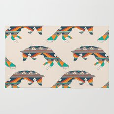 Graphic Foxy repeat Rug