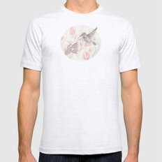 Delicate Symphony Mens Fitted Tee Ash Grey SMALL