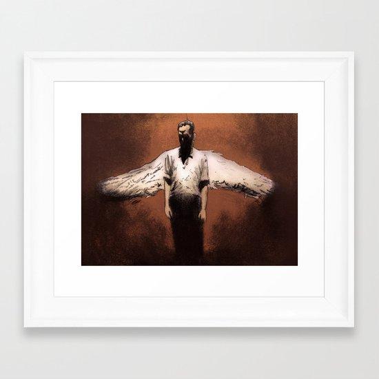 Losing My Religion Framed Art Print