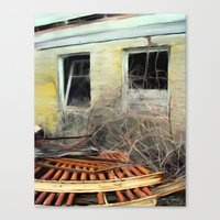 In Decay #1 Canvas Print
