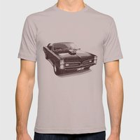 PONTIAC GTO Mens Fitted Tee Cinder SMALL