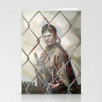 walking dead Stationery Cards featuring The Walking Dead by ketizoloto
