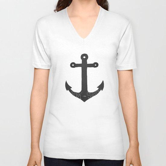 Sink or Swim V-neck T-shirt