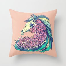 Beautiful Horse Throw Pillow