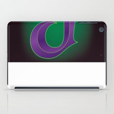 Alphabet J iPad Case