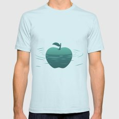 Apple 23 Mens Fitted Tee Light Blue SMALL