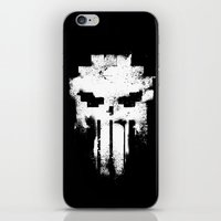 Space Punisher iPhone & iPod Skin