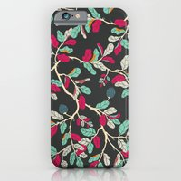 Minty Pinky Branches iPhone 6 Slim Case