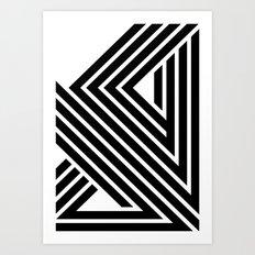 Starlines 01. Art Print