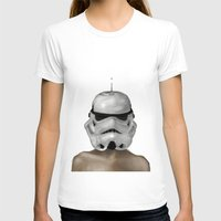 Droptrooper Womens Fitted Tee White SMALL