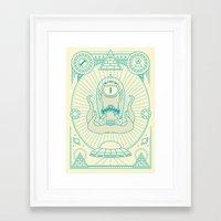 Kang The Liberator  Framed Art Print
