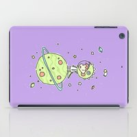 Space Dinosaur iPad Case