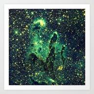 Art Print featuring NEBULa by GalaxyDreams