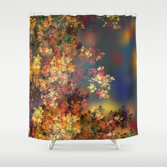 A Beautiful Summer Afternoon Shower Curtain