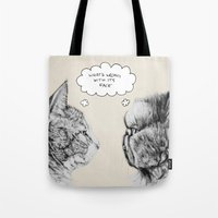 Cat Confusion Tote Bag