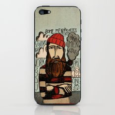 SOME MEN ARE SAILORS iPhone & iPod Skin
